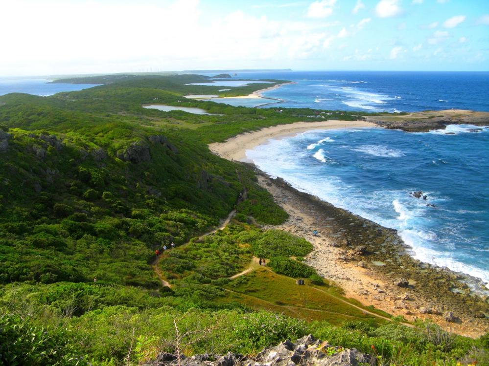 À la découverte des îles guadeloupéennes